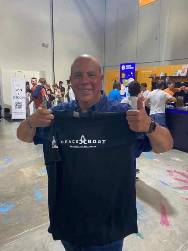 SpaceGoat at Bitcoin Miami